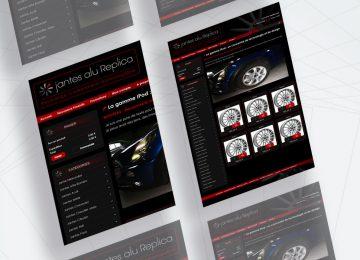 internet-site ecommerce - jantes automobile