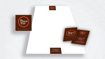 logo et carte de visite d'un restaurant